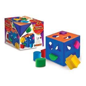 Cubo Didactico Encastre Con Formas Duravit Primera Infancia
