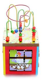Infantil Niños Didáctico Encastre Juguete Cubo Grande Madera 4L3ARqjSc5