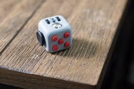 cubo fidget spinner alivia el estrés ansiedad colores 3.3cm