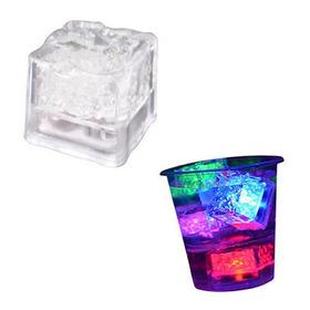 Cubo Led Hielo Luminoso Decorativo Fiestas Eventos 15 Años 3