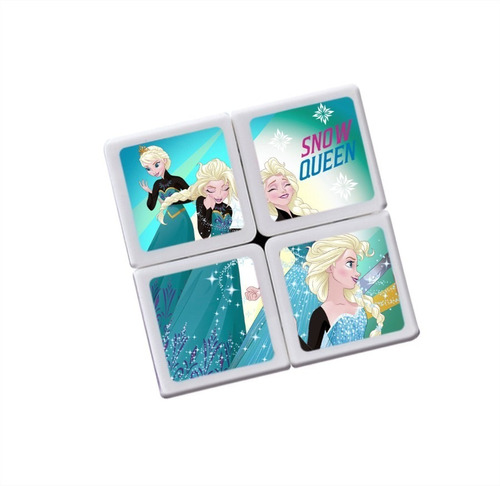 cubo magico 2 x 2 ditoys disney frozen princesas original