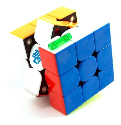 cubo mágico 3x3x3 gan 356 x magnético colorido ipg numérico