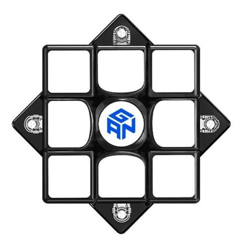 cubo mágico 3x3x3 gan 356 x s magnético preto xs em estoque