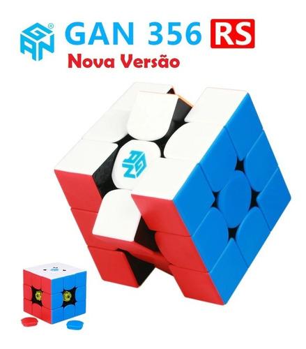 cubo mágico 3x3x3 gans gan 356 r s colorido profissional