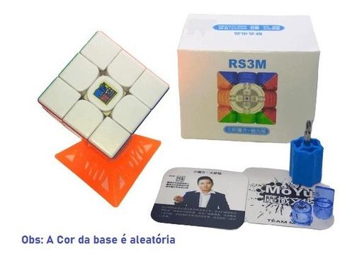 cubo mágico 3x3x3 moyu rs3 m 2020 magnético colorido