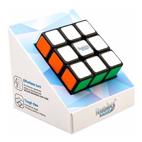 cubo mágico 3x3x3 original rubik's rubiks speed gan preto