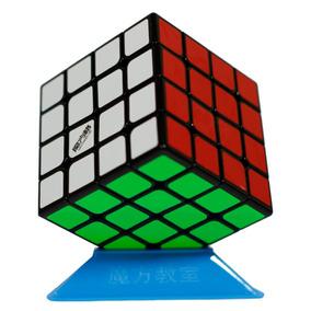 Rubik Qiyi Fondo Magico Cubo De Negro 4x4 Wuque 4x4x4 ED9be2WHYI