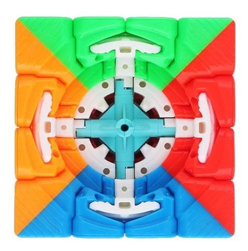 cubo mágico 4x4x4 yuxin little magic magnético profissional