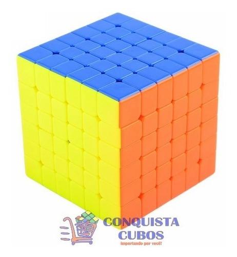 cubo mágico 6x6x6 cyclone boys d-fantix colorido