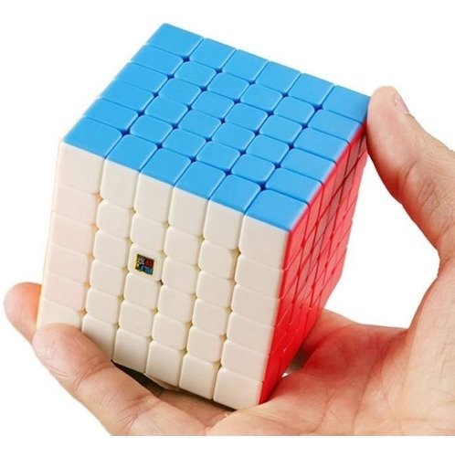 cubo mágico 6x6x6 moyu meilong 6 colorido em estoque