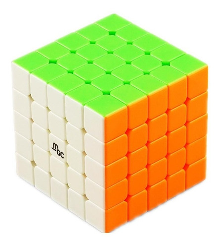 cubo mágico 6x6x6 yj mgc magnético profissional colorido
