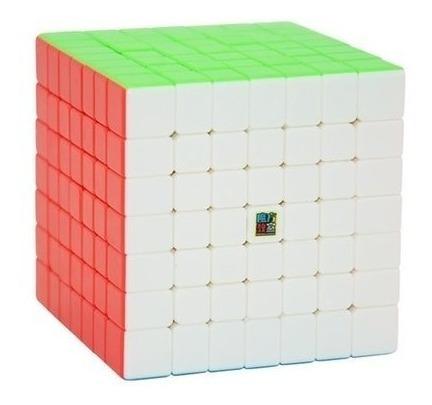cubo mágico 7x7x7 moyu meilong 7 colorido pronta entrega