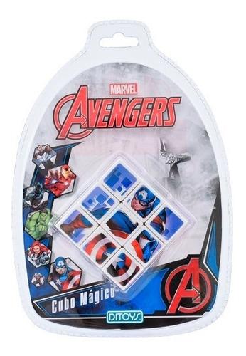 cubo mágico avengers 3x3 ditoys