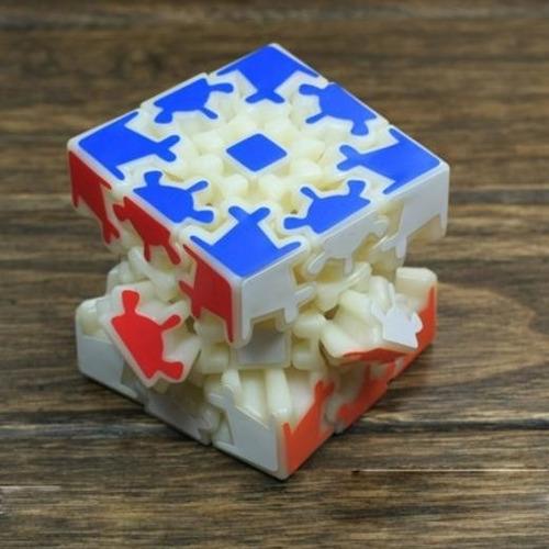 cubo mágico com nova roda de engrenagem color lacrado