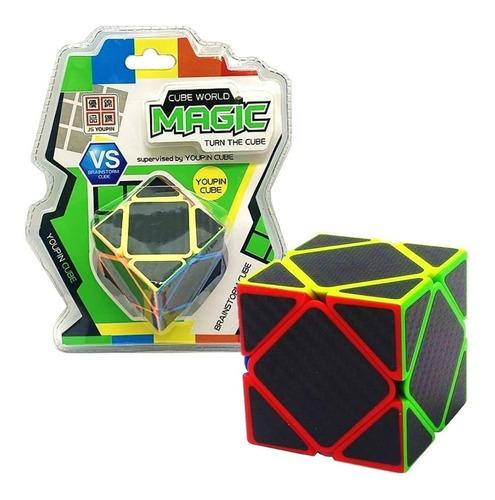 cubo magico cube world 5 piezas por cara rombo educando full