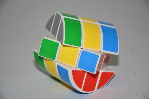 cubo mágico diansheng 3x3x3 cilíndrico