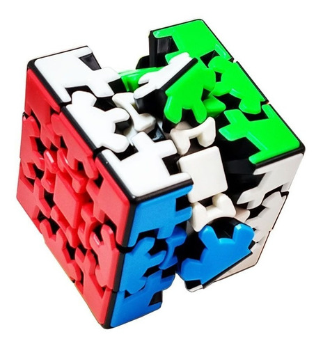 cubo mágico gear cube 3x3x3 kungfu puzzle pronta entrega