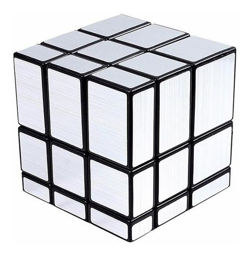 cubo magico metalizado 3x3x3 simil rubik new fdy003 bigshop