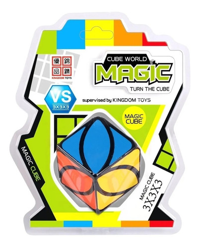 cubo magico oval cube magic world original educando full