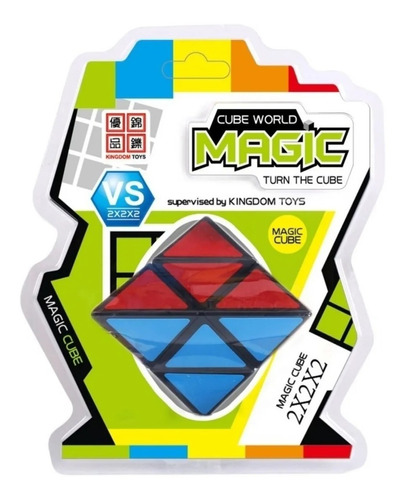 cubo magico piramide cube magic world original educando full