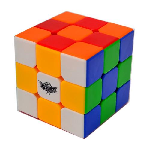 cubo mágico profissional 3x3x3 cyclone boys - colorido