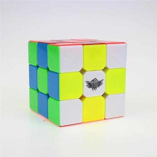 cubo magico profissional cyclone boys 3x3x3 shaolin gold