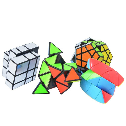 cubo mágico puzzle paquete suave toque puzzle pirámide megam