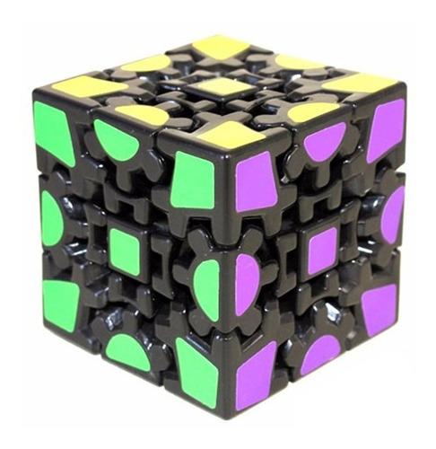 cubo magico rubik lanlan gear 3x3x3 v2 raro de coleccion