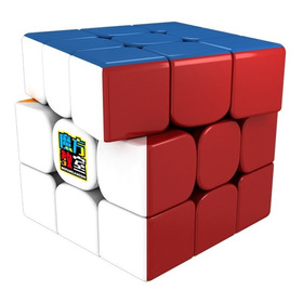 Cubo Mágico Rubik Moyu Mf3 Rs3m Magnético Stickerless