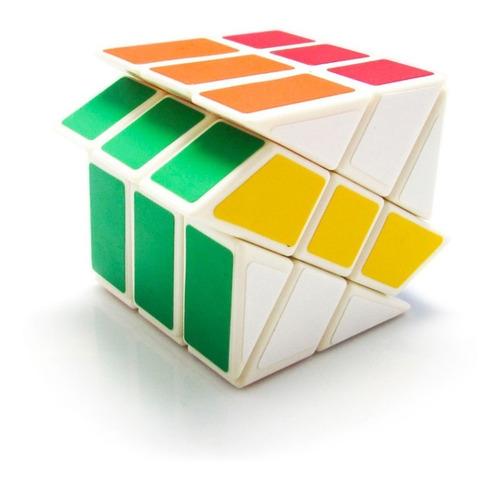 cubo magico yj windmill puzzle cubo rubik corte en diagonal