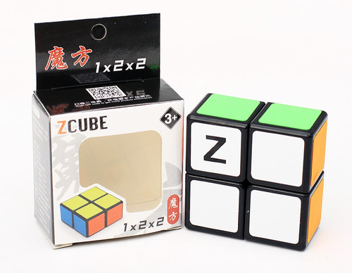 cubo magico zcube 1x2x2 - iniciantes