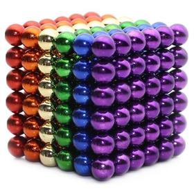 Cubo Magnético Multicolor 216 Imanes Neodimio 5mm+ Envio
