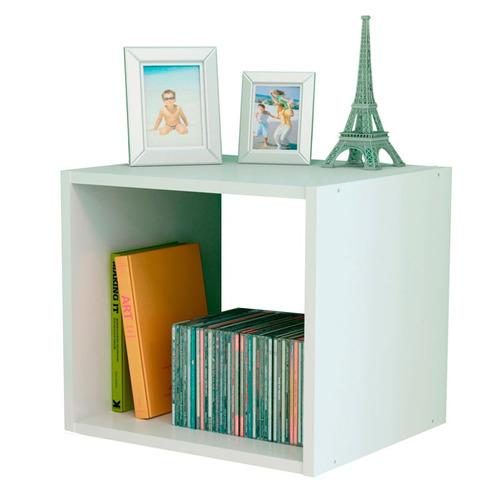 cubo melamina simple mueble estante 35x35 cuerpo cu1 colores