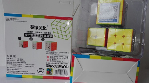 cubo moyu mf x3 gif box originales speed cube stickerless +