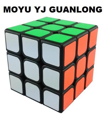 cubo moyu yj guanlong 3x3 fondo negro original ecuarubiks