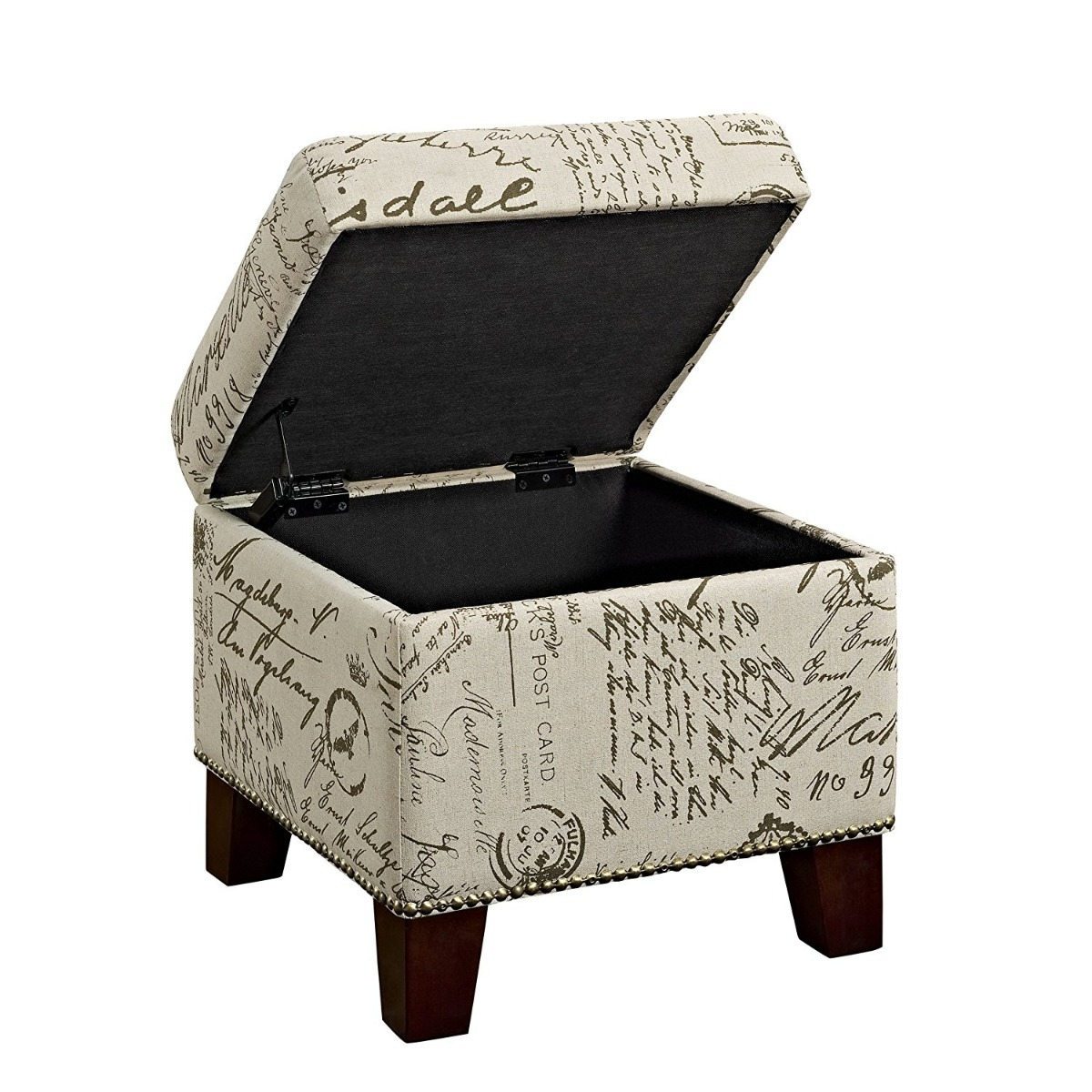 Excelente Otomana Cubo Con Muebles De Almacenamiento Modelo ...