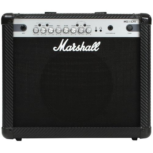 cubo p/ guitarra 10 pol 30w carbonfibre - mg 30 cfx marshall