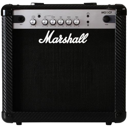 cubo p/ guitarra fal 8pol 15w carbon fibre - mg15cf marshall