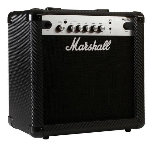cubo para guitarra fal 8' 15w carbon fibre mg15cf - marshall