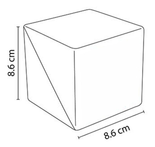 cubo porta notas lapicero sencillo ecológico