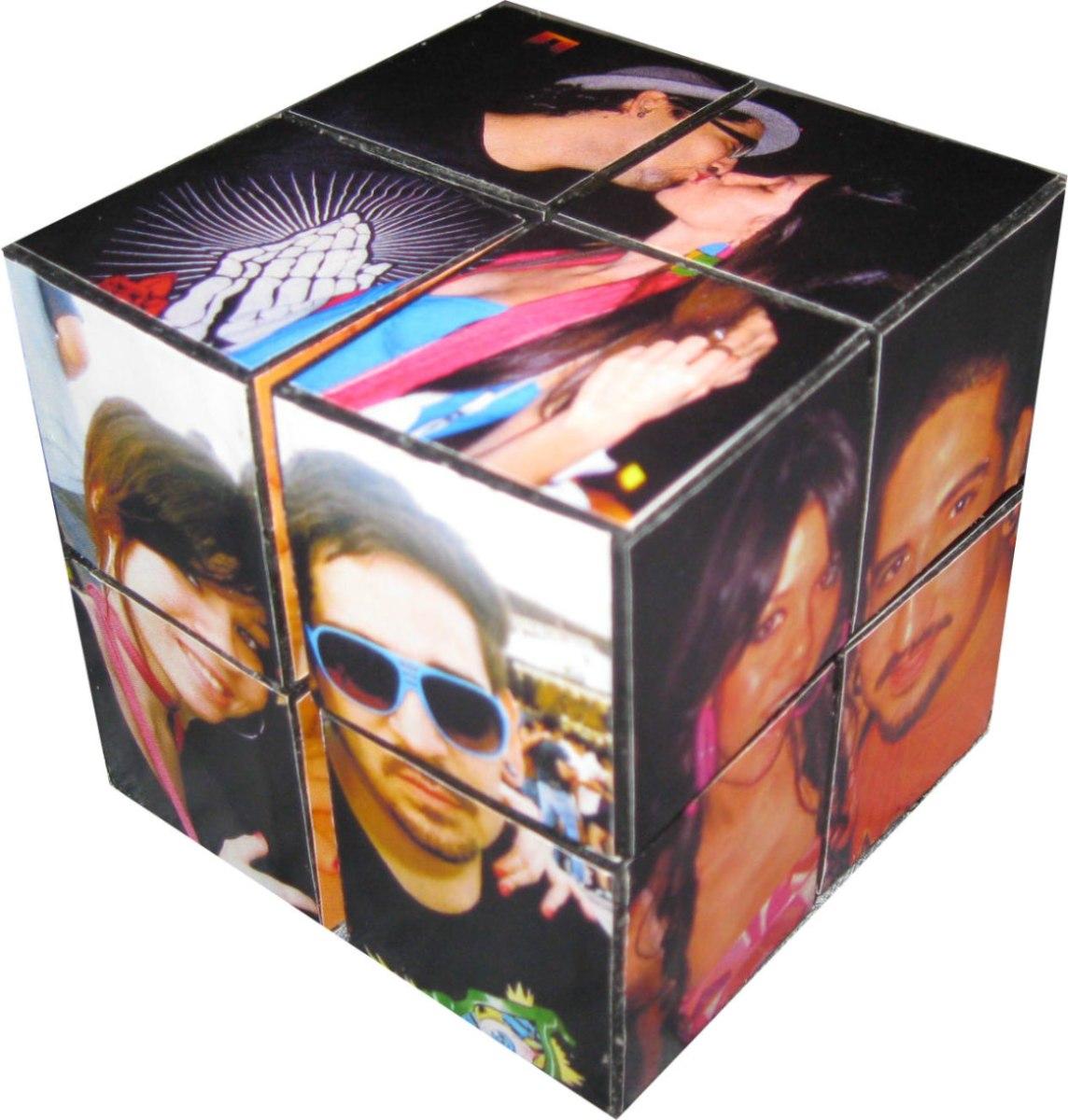 Cubo portaretratos movible personalizado en for Regalo muebles usados