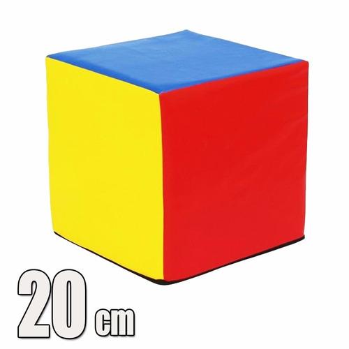 cubo  psicomotricidad polifon alta densidad 20cm(por pedido)