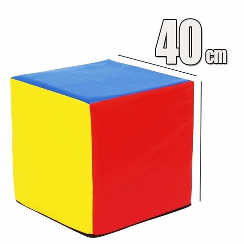 cubo psicomotricidad polifon alta densidad 40cm(por pedido)