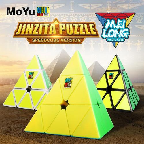 cubo pyraminx 3x3 moyo meilong