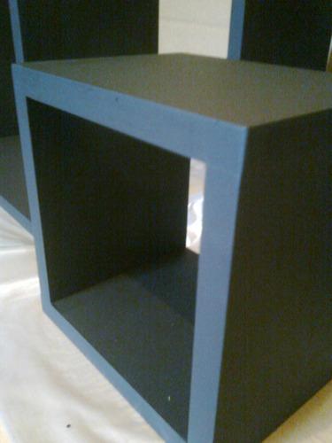 cubo repisa flotante,modulo4, sin soportes a la vista.oferta