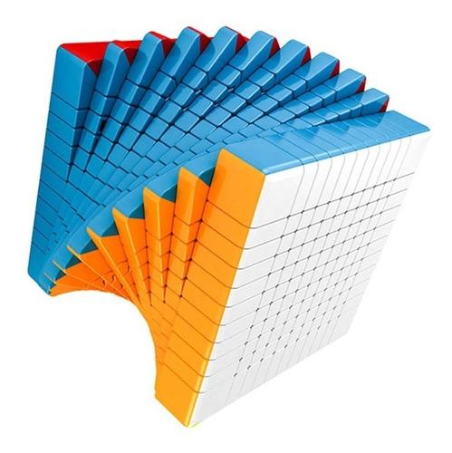 cubo rubik 11x11 moyu meilong stickerless 11x11x11 + base