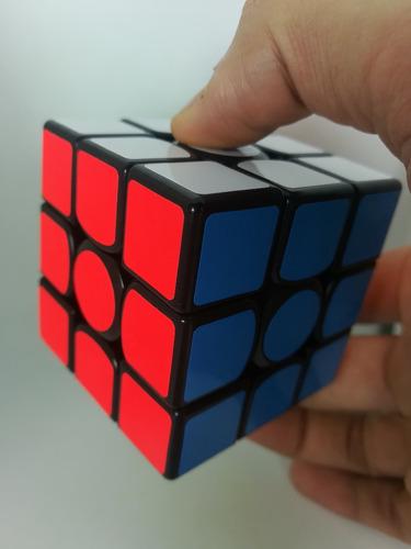cubo rubik 3x3 gans 356 air sm magnetico negro profesional
