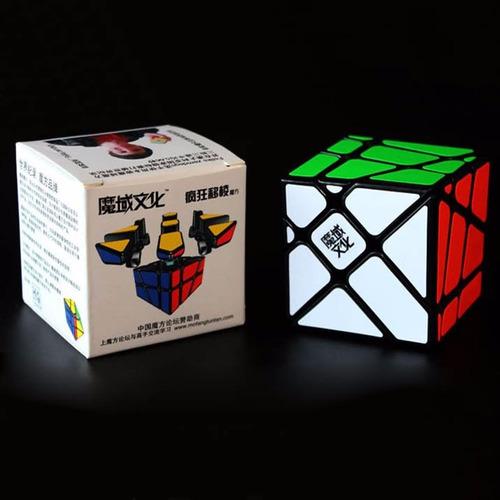 cubo rubik 3x3 moyu crazy fisher yileng + regalo
