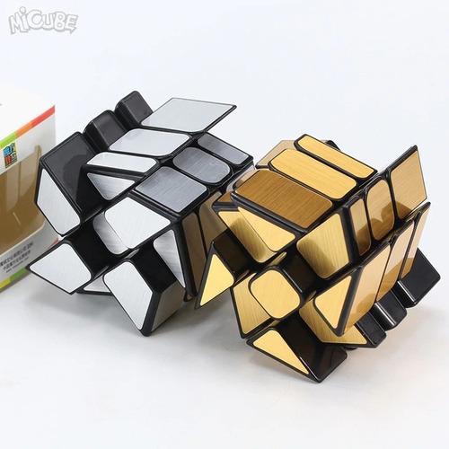 cubo rubik 3x3 moyu mofangjiaoshi windmirror dorado