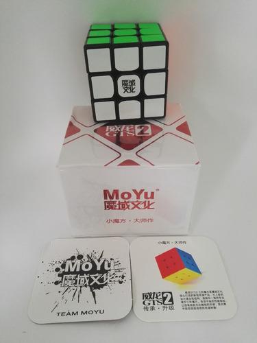 cubo rubik 3x3 moyu weilong gts2 v2 speedcube profesional